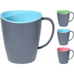 Duotone Plastic Mug 350 M...