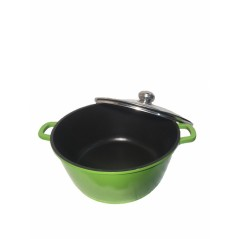 Green Cooking Pot...