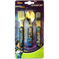 Miles From Tomorrow 3 Piece Cutlery Set