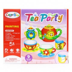 Color Day Painting Tea Pa...
