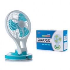 Jewelry Portable Led Light With Mini Fan...