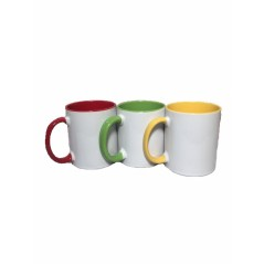 Multi Coloured Ceramic Mugs