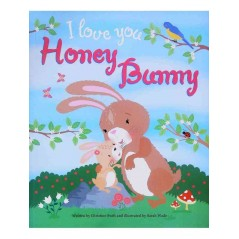 I Love You Honey Bunny Picture Book