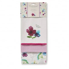 Tea Tower 3 Pack Chatsworth Floral by Cooksmart