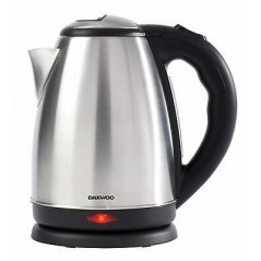 Daewoo 1.8L Polished Kettle Stainless Steel