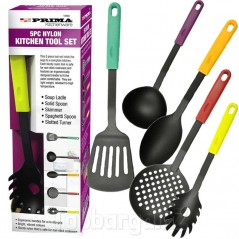 5PC Nylon Kitchen Tool Set by Prima