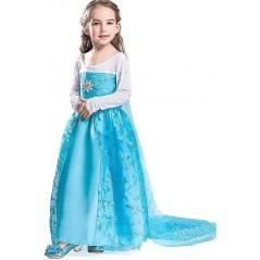 Girls Premium Elsa Fancy ...
