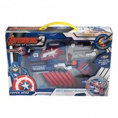 Avengers Super Heroes Soft Bullet Blaster Gun