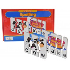 Children's Kids Match it Spelling Puzzle...