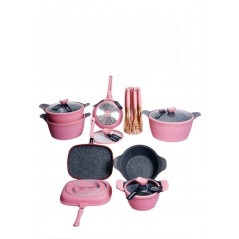 Rockland Cookware Set 24pcs...