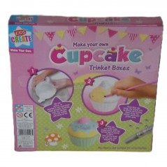 Kids Create - Make Your Own Cupcake Trinket Boxes