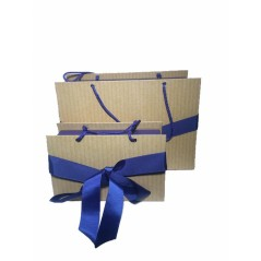 3pcs File Box With Bow...